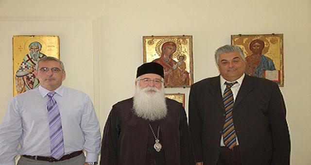 Συνάντηση του Σεβ. Μητροπολίτου κ. Ιγνατίου με την Διοίκηση του Νοσοκομείου Βόλου