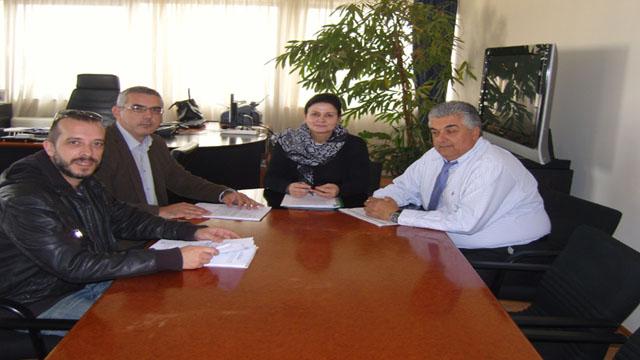 Επίσκεψη στη Γ.Γ.Αποκεντρωμένης Διοίκησης Θεσσαλίας & Στερεάς Ελλάδας κ.Πόπη Γερακούδη
